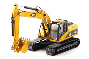 Caterpillar-216B-Backhoe